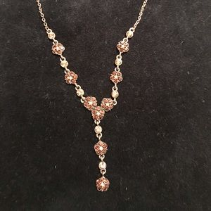 Jewelry - Brown copper statement necklace